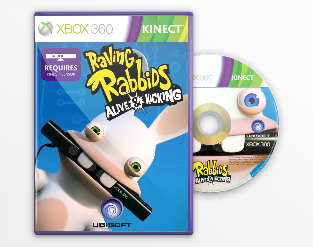 Christian Ronchi   Online Portfolio - RAVING RABBIDS: ALIVE & KICKING