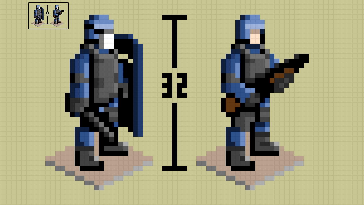 Character Design Pixel Art : Christian ronchi online portfolio pixelart s w a t
